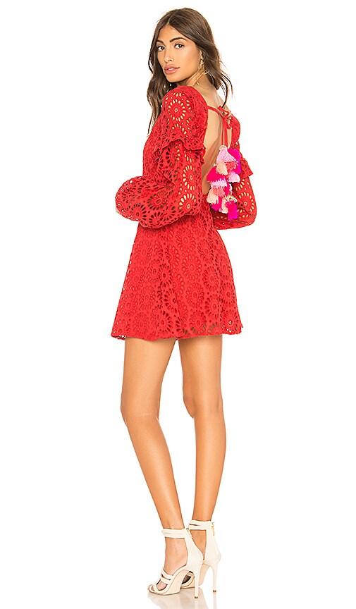 a5bdc275cd7 Sundress Margherita Dress in Red   Multi Pink