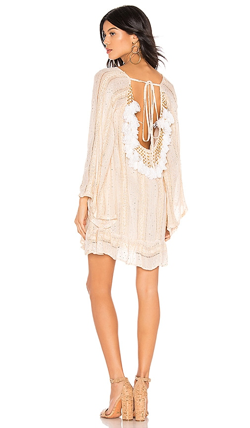 836884c6f57 Sundress Indiana Basic Dress in Petra Sand   White