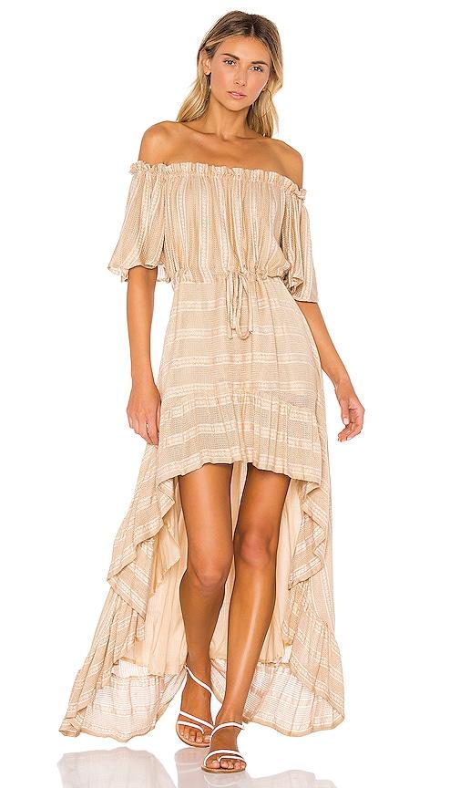 df2f231565e Sundress Alena Dress in Lisbonne Beige