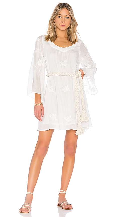 x Collage Vintage Perla Gypsy Dress in White. - size M-L (also in XS-S) Sundress