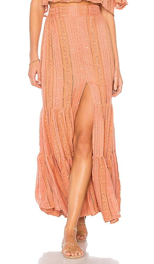 Sundress Jade Skirt in Rust
