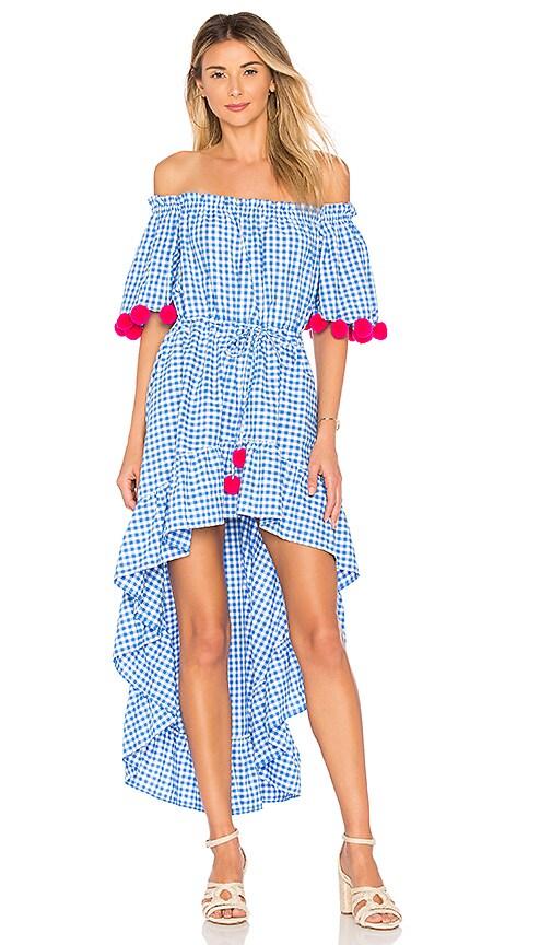 4d3293bdf99 Sundress Alena Dress in Light Blue   Pink