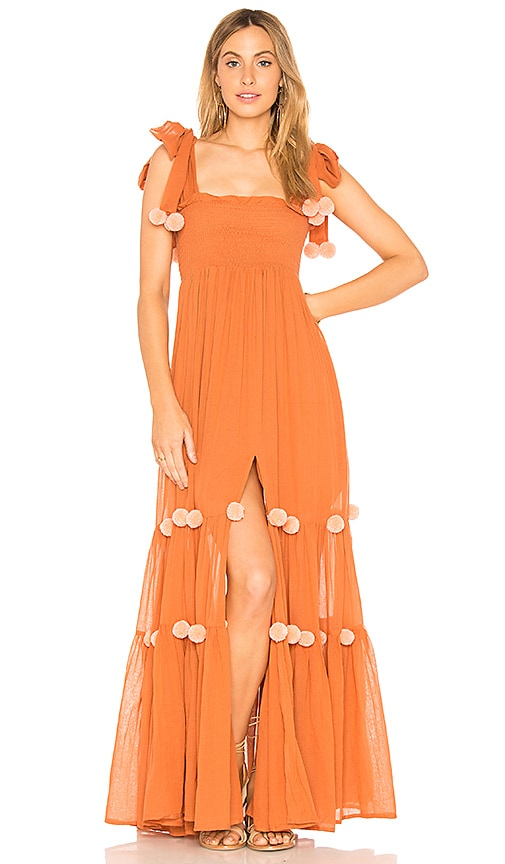 a6e2f016e56 Sundress Pippa Dress in Cinnamon   Flamingo