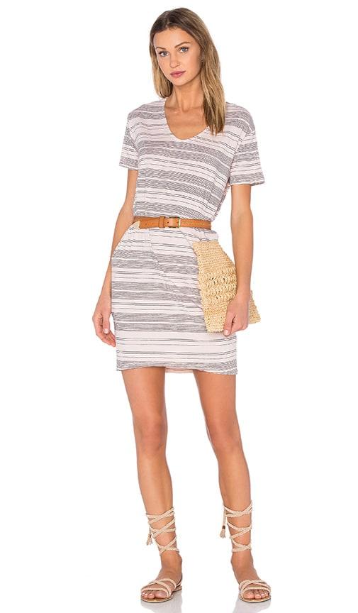 SUNDRY Shirt Dress in Beige