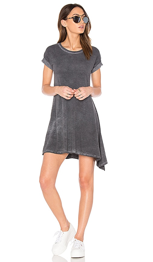 SUNDRY Asymmetrical Dress in Black