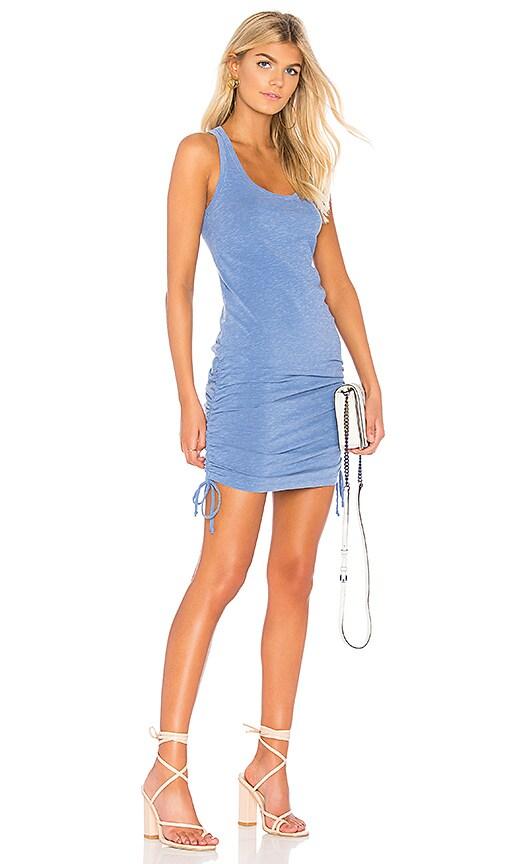 SUNDRY Racerback Dress in Blue