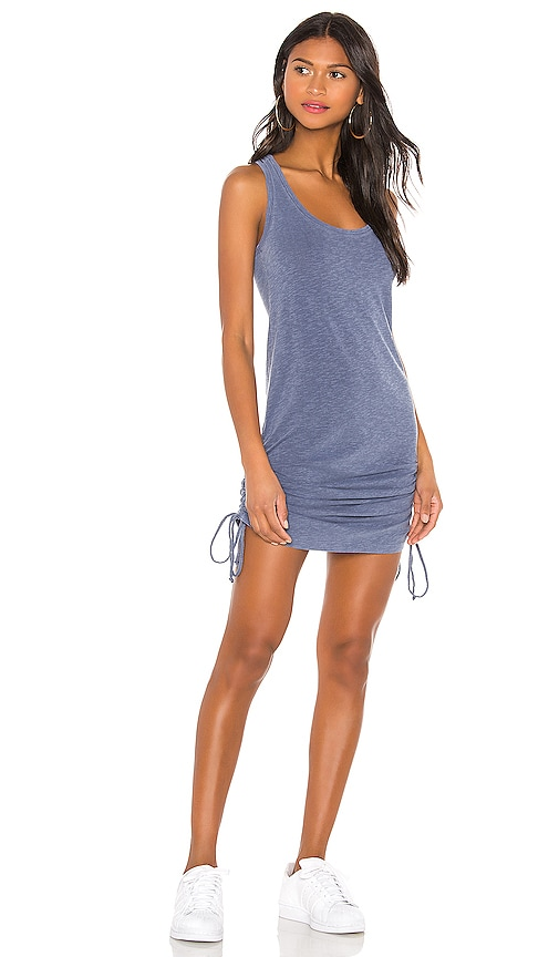 Racerback Side Shirred Dress