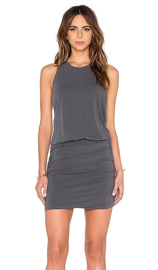 SUNDRY Sleeveless Dress in P Grey
