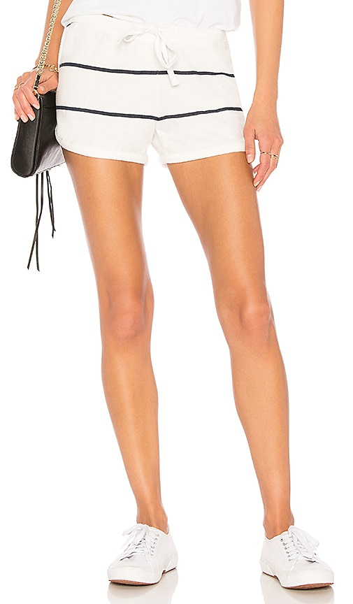 SUNDRY Dolphin Shorts in Cream