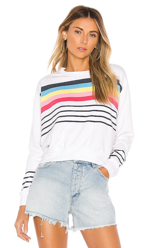 Crop Blouson Sweatshirt