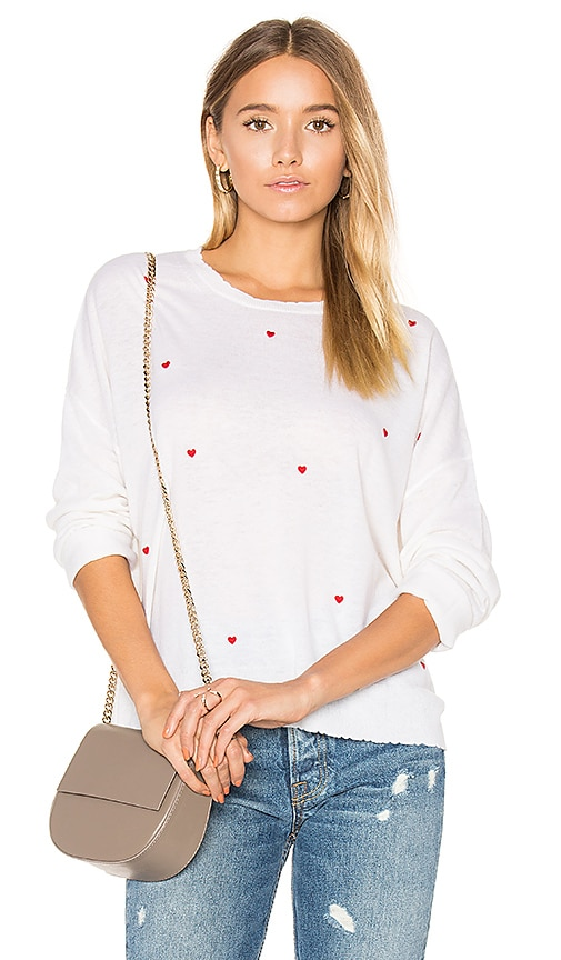 Little Hearts Cashmere Sweater