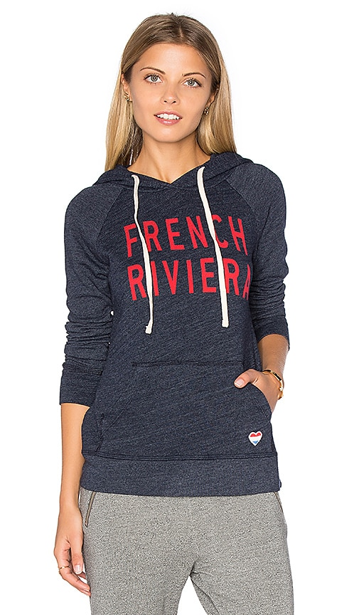 Fleece French Riviera Hoodie