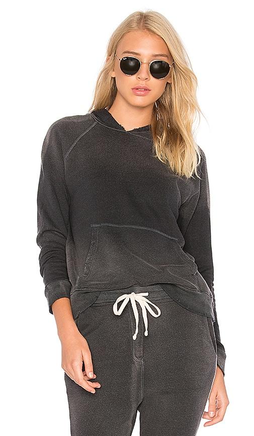 SUNDRY Pullover Hoodie in Black