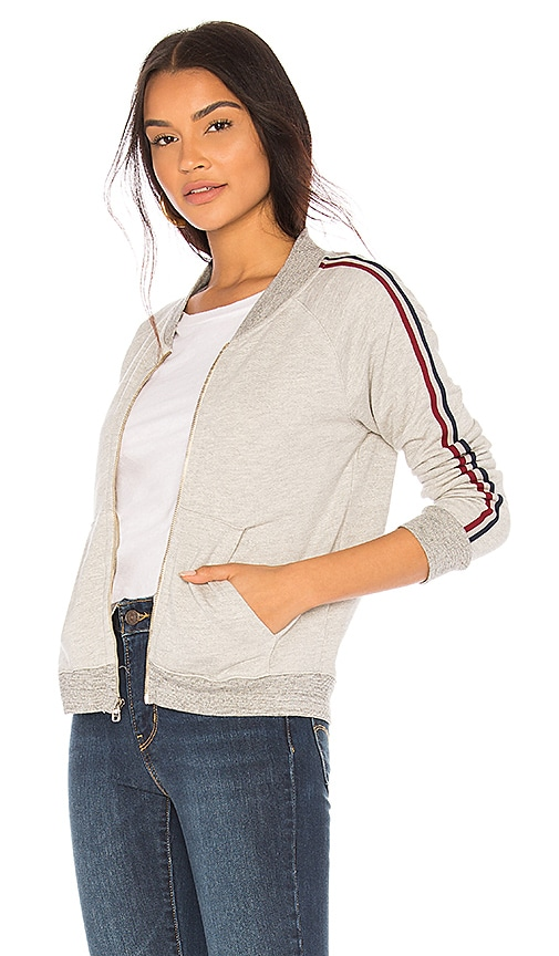 SUNDRY Track Jacket in Gray