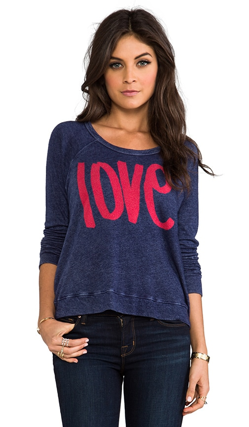 Love Cropped Pullover