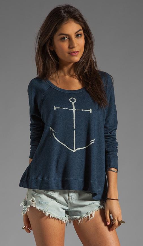 La Marina Cropped Pullover