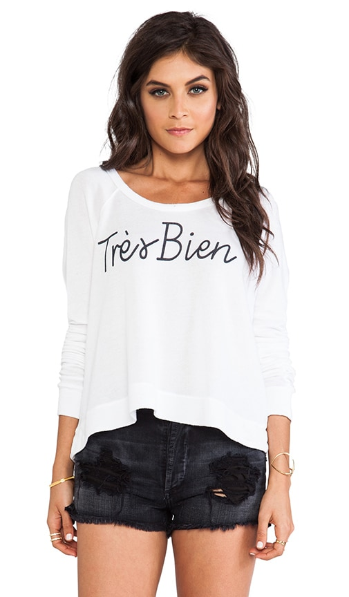 Tres Bien Cropped Pullover