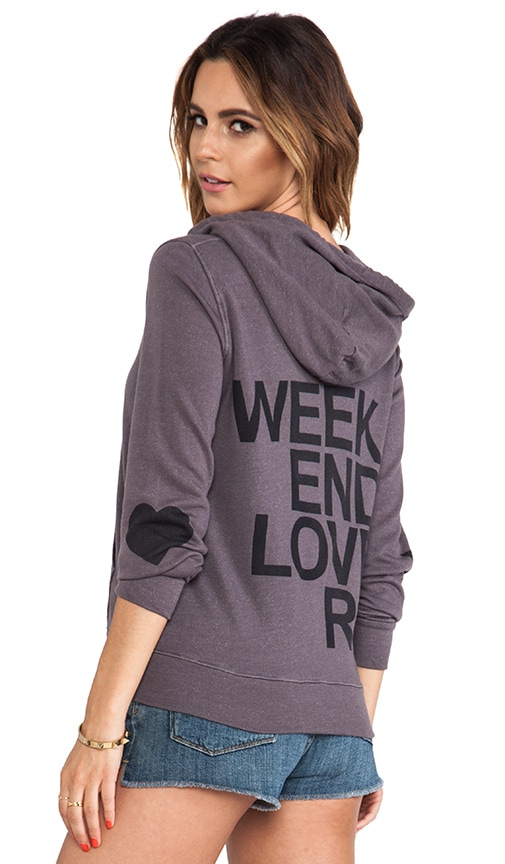 Weekend Lovers Zipper Hoodie