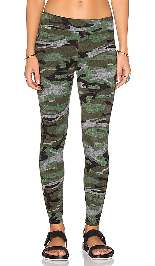 SUNDRY Yoga Pant in Olive