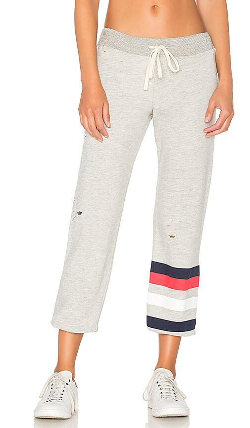 SUNDRY Stripes Sweatpant in Light Gray