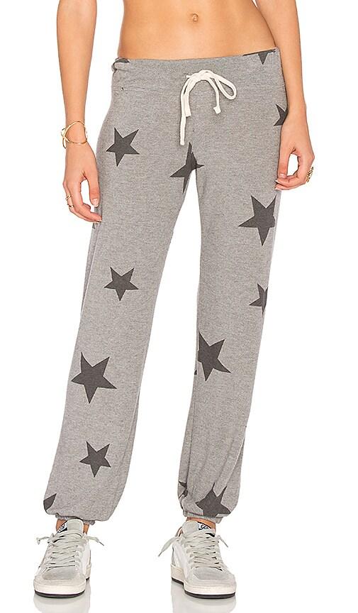 SUNDRY Sweater Knit Sweatpants in Grey