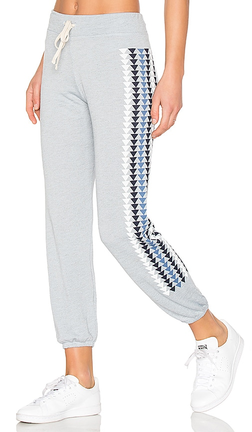 SUNDRY Triangles Sweatpants in Gray
