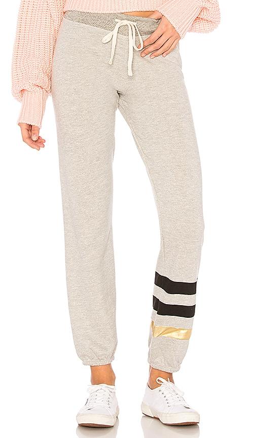 SUNDRY Stripes Sweatpants in Gray