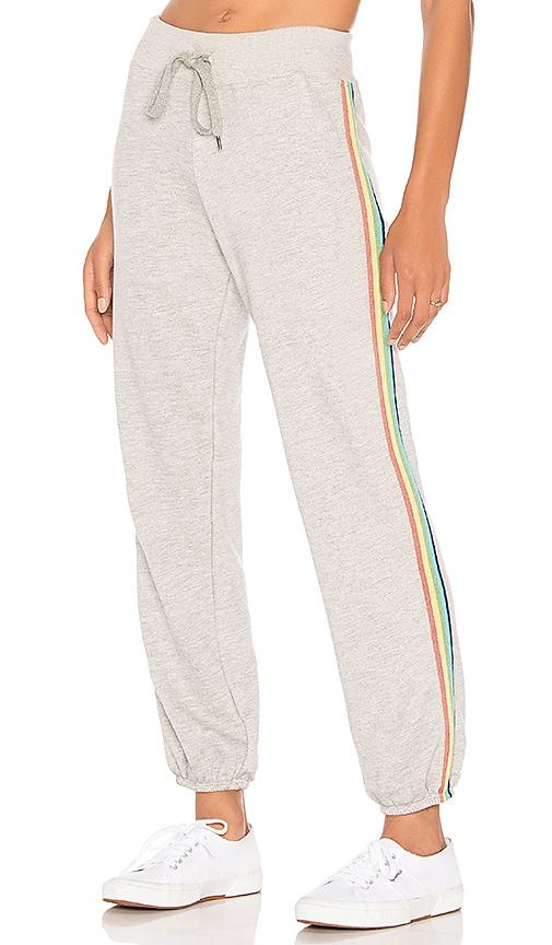 Rainbow Stripes Basic Sweatpant