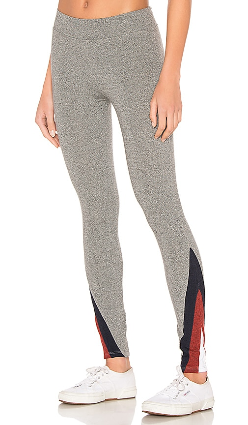 Color Inset Yoga Legging