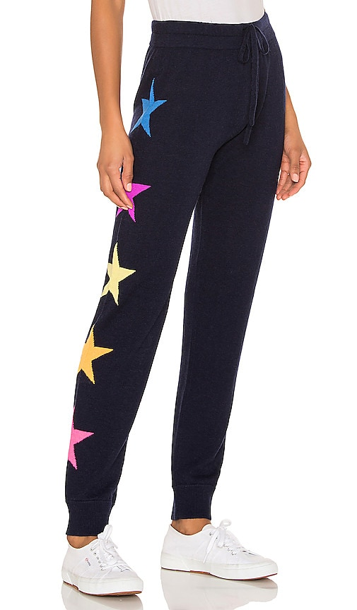 Side Stars Cozy Cashmere Blend Sweatpants