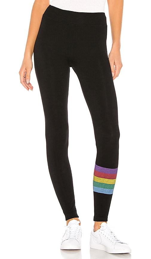 Rainbow Stripes Yoga Pant
