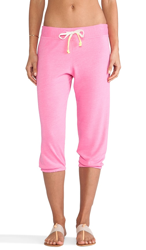 Fleece Capri Sweat Pants