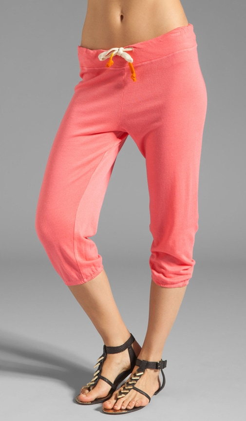 Light Terry Capri Pant