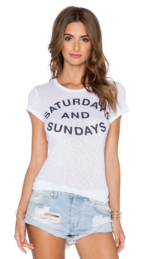 Saturdays & Sundays Tee