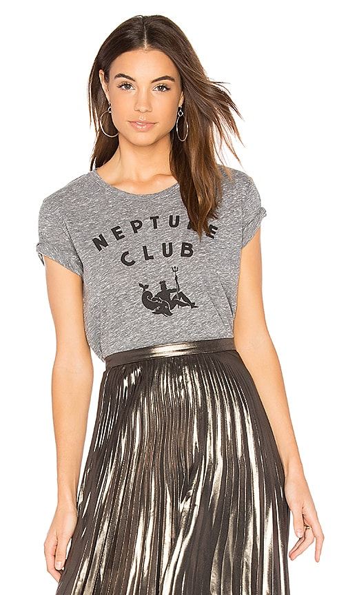 SUNDRY Neptune Club Tee in Gray