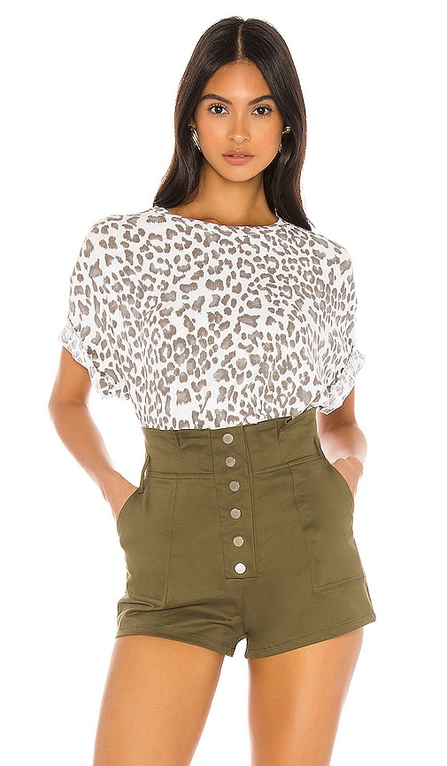 Leopard Oversized Tee