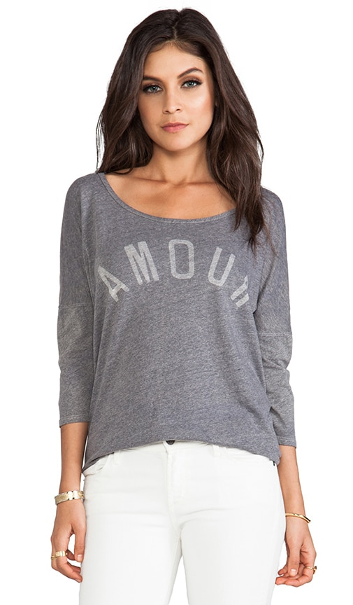Amour 3/4 Sleeve Tee