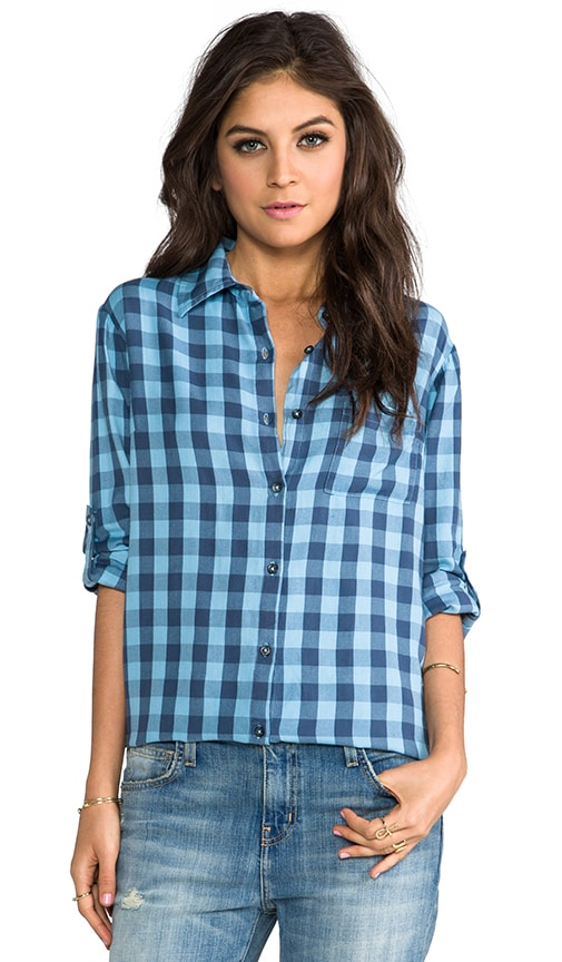 Button Up Flannel Shirt