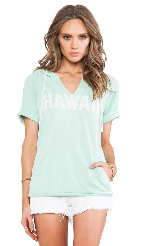 Hawaii Short Sleeve Hoodie