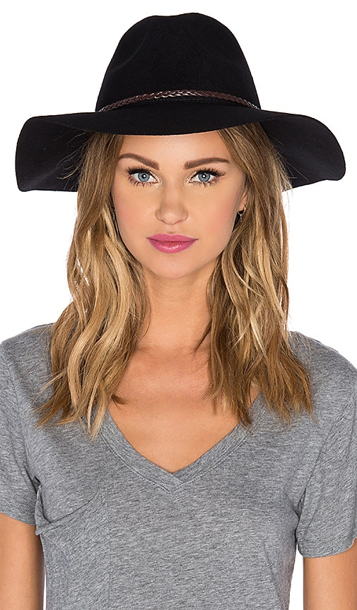 Seafolly Wayfarer Floppy Hat in Black