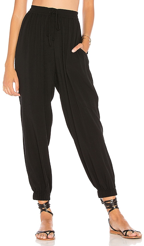 Seafolly Voile Pant in Black