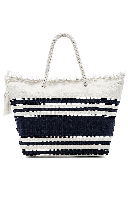Seafolly Carried Away Riviera Tote in White