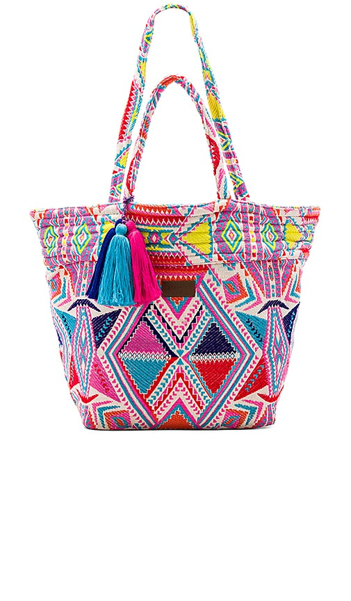 Seafolly Carried Away Oversized Tote in Pink