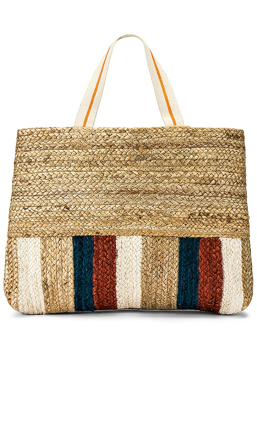 Carried Away Stripe Tote