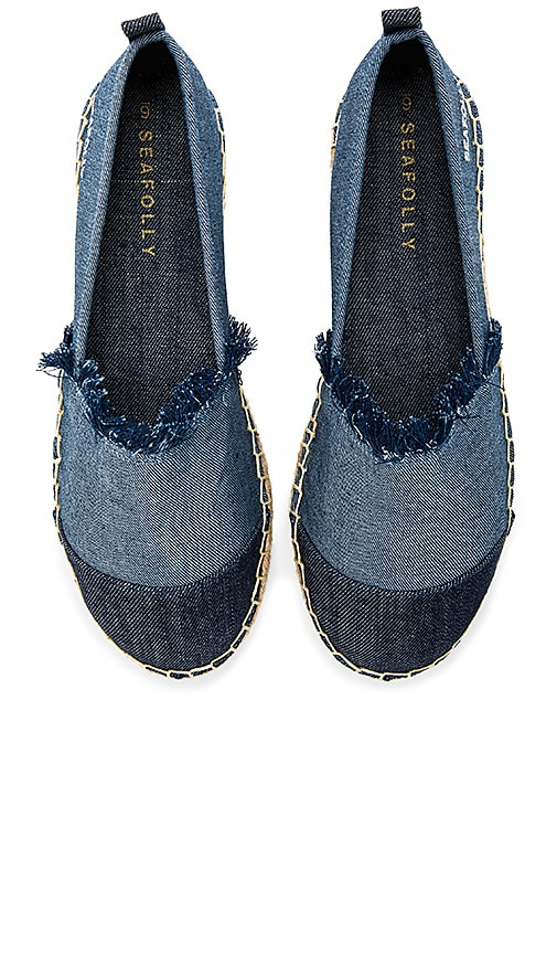 Seafolly Walk About Espadrille in Navy