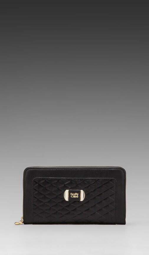 Mina Long Zipped Wallet