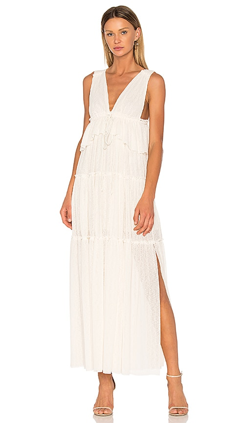 3e52a525ab See By Chloe Maxi Dress in Natural White