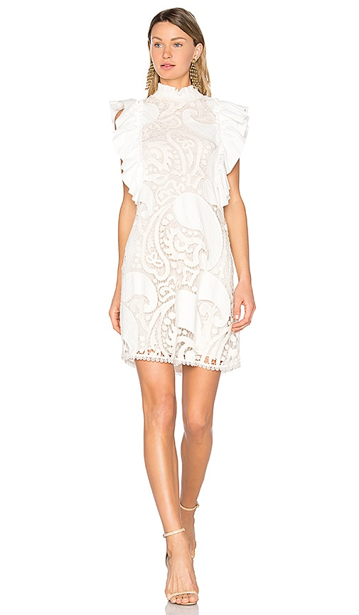 See By Chloe Lace Sheath Dress in White