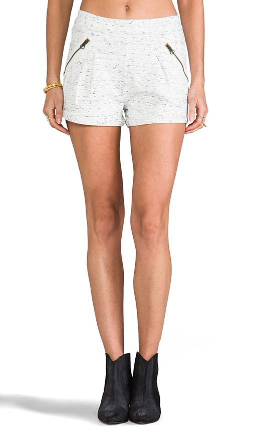Shorts with Zipper Pockets