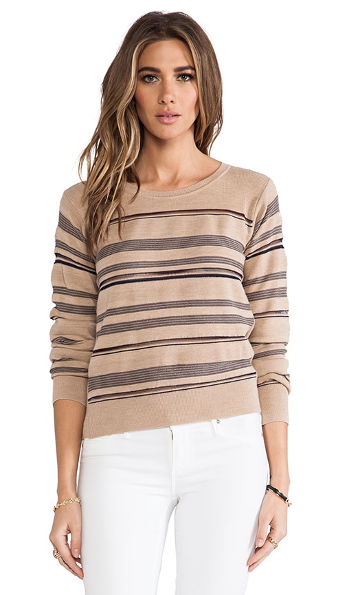 Long Sleeve Horizontal Sweater